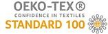 Ikon for OEKO-TEX-certificering af økologisk stof